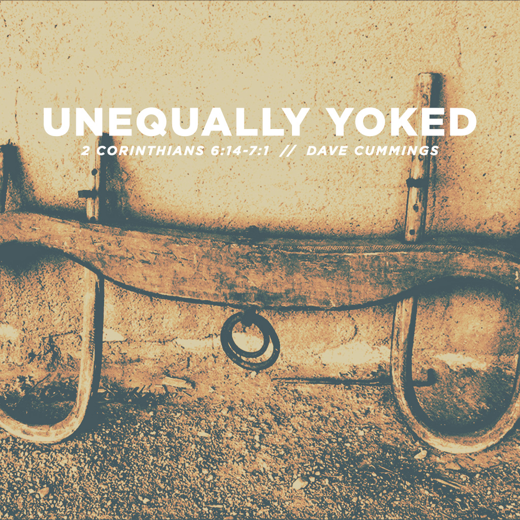Unequally yoked verse