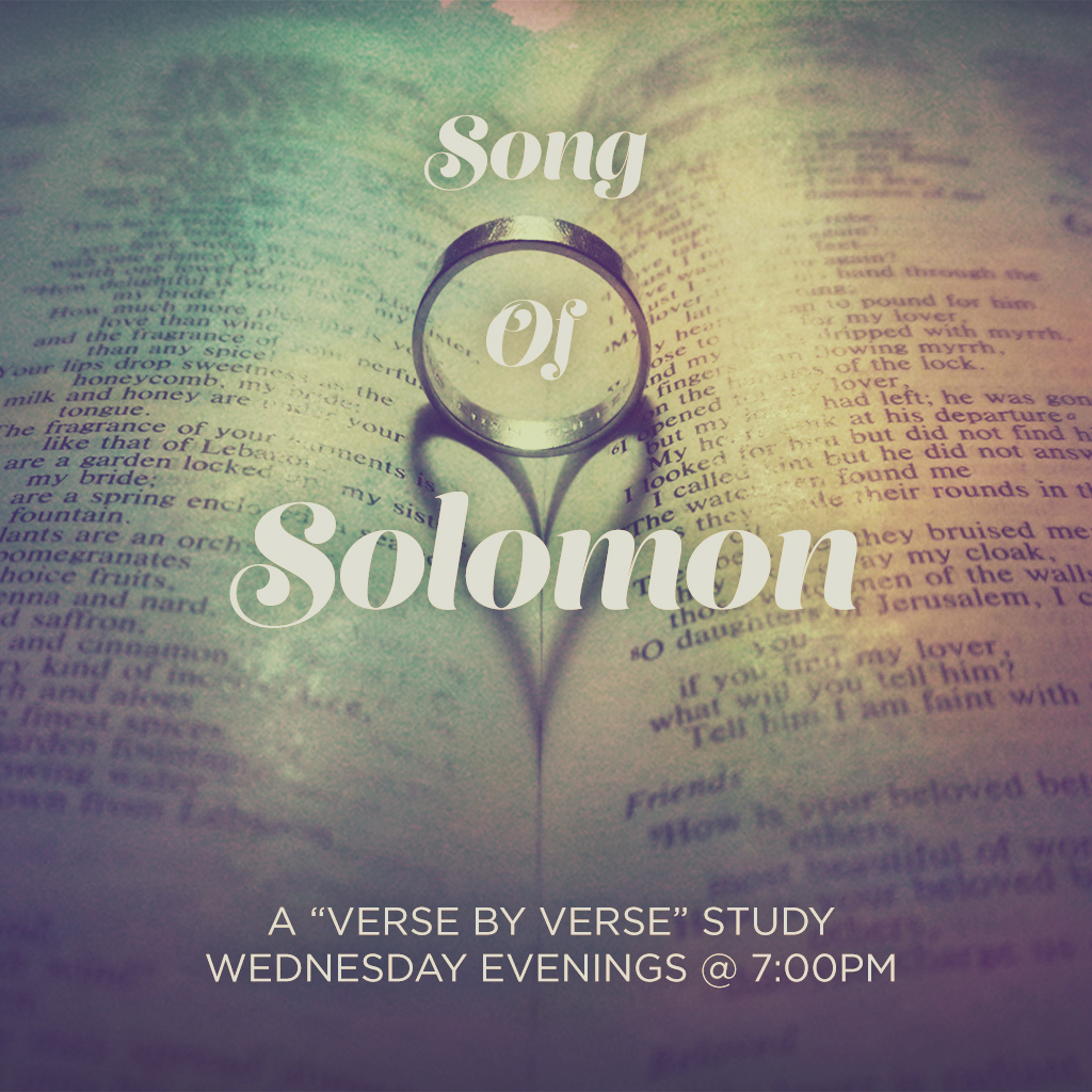 song of solomon The song of songs, which is solomon's she let him kiss me with the kisses of his mouth for your love is better than wine your anointing oils are fragrant your name is oil poured out therefo.